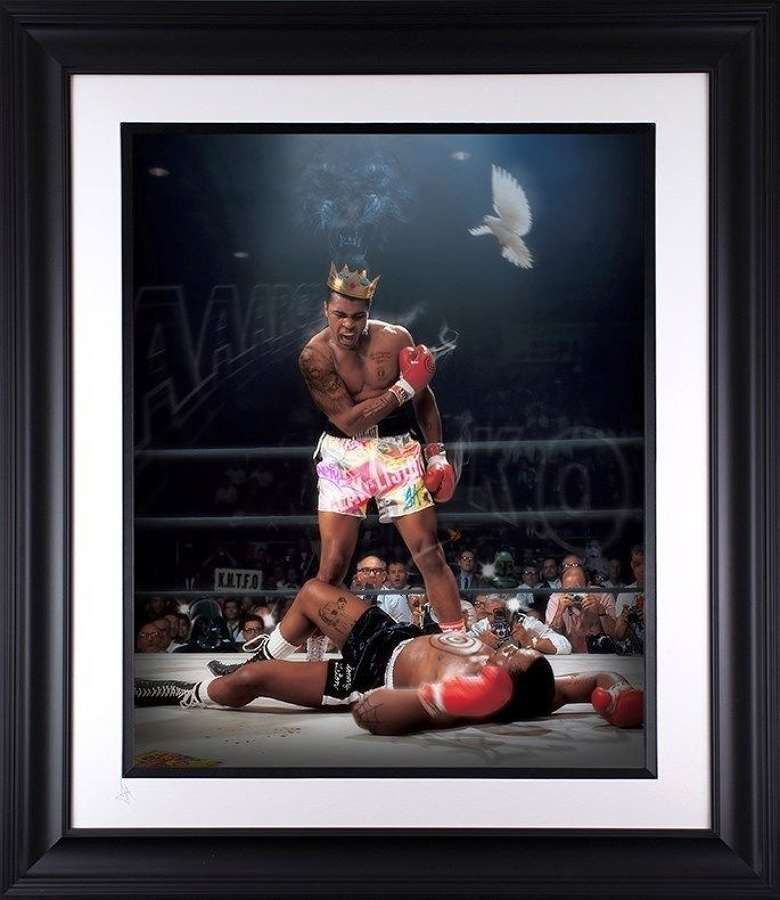 Sting Like a Bee - Lenticular  - Framed Art Print By JJ Adams