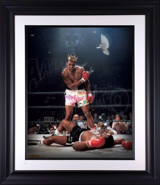 Sting Like a Bee - Lenticular  - Framed Art Print By JJ Adams