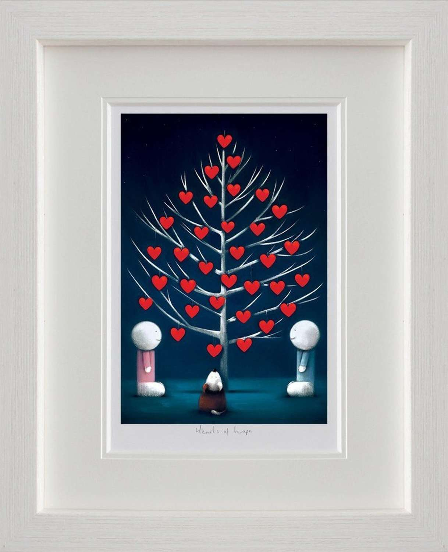 Hearts of Hope - Framed Art Print By Doug Hyde