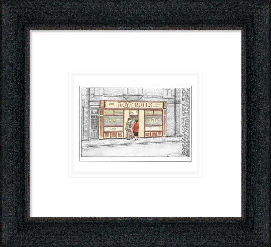 Love Story - Sketch - Framed Art Print By Leigh Lambert
