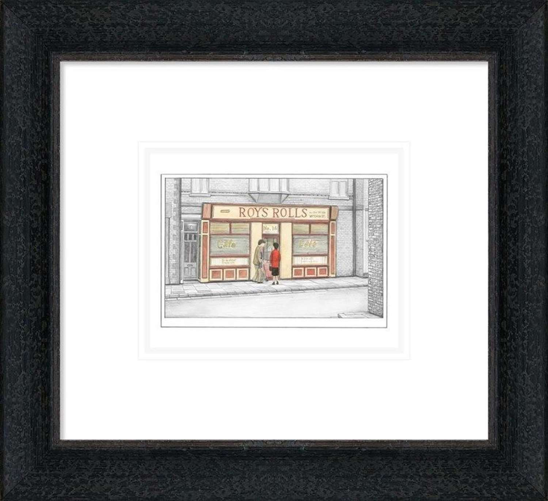 Love Story - Sketch - Framed Art Print By Leigh Lambert