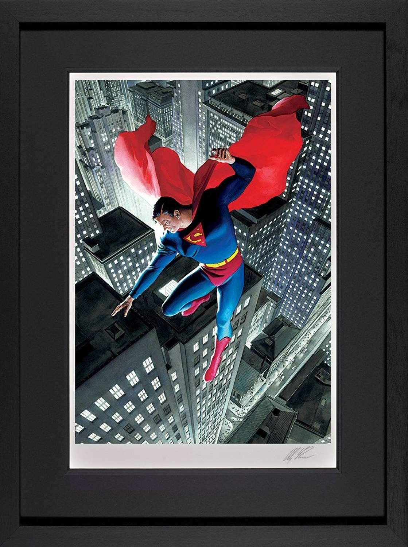 Superman Twentieth Century - DC Legends Framed Art Print by Alex Ross