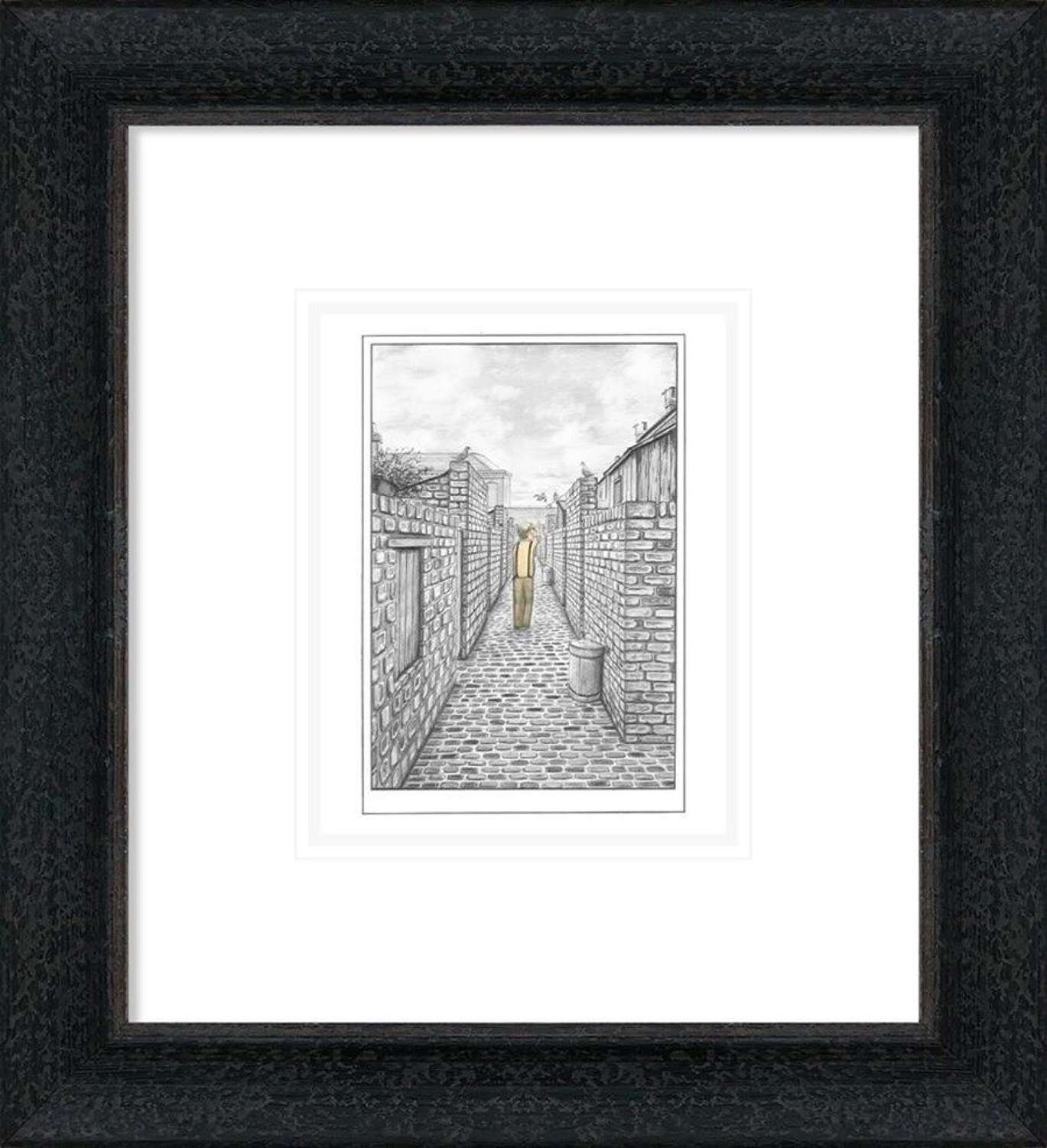 They Always Come Home - Sketch - Framed Art Print By Leigh Lambert