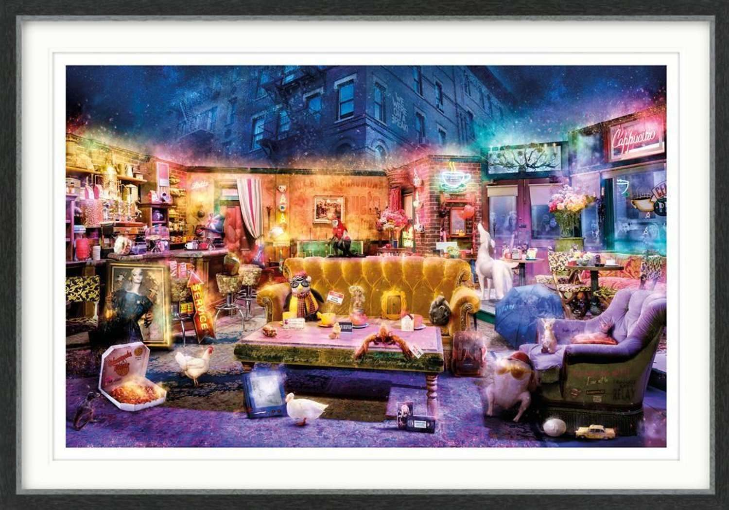 I'll Be There For You (Friends) Framed Art Print by Mark Davies