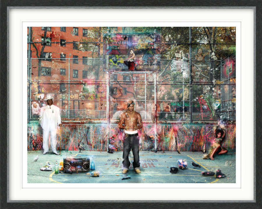 Ghetto Supastars - Framed Art Print by Mark Davies