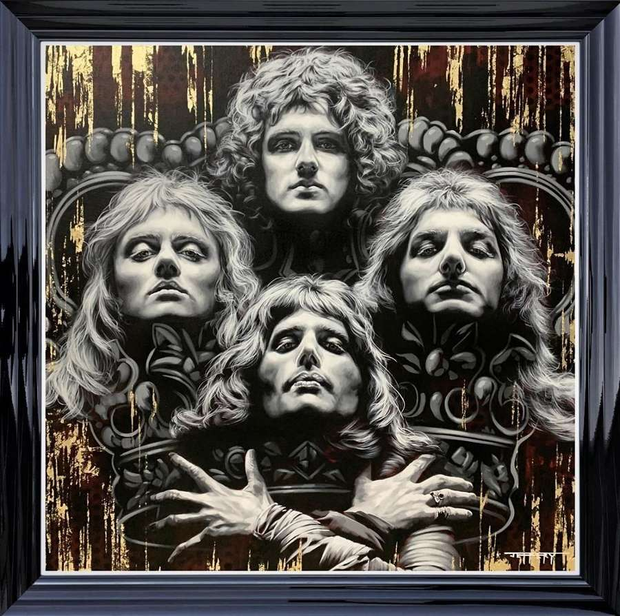 Bohemian Rhapsody -  Framed Art Print  by Ben Jeffery