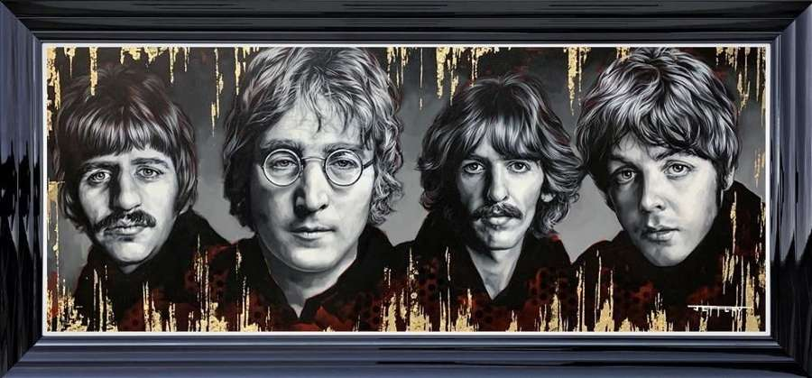 Fab Four Framed Art Print by Ben Jeffery