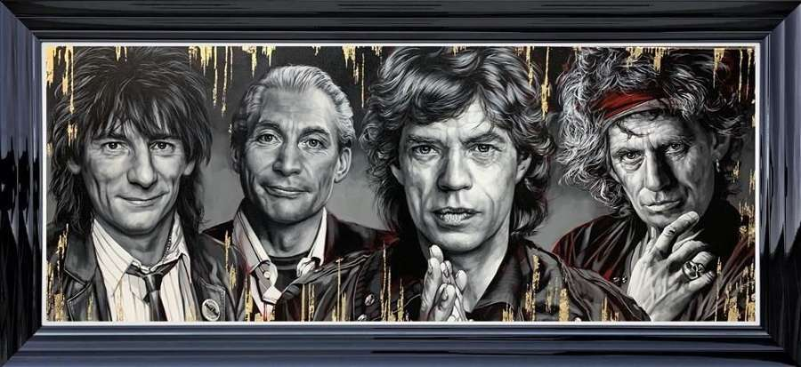The Stones Framed Art Print  by Ben Jeffery