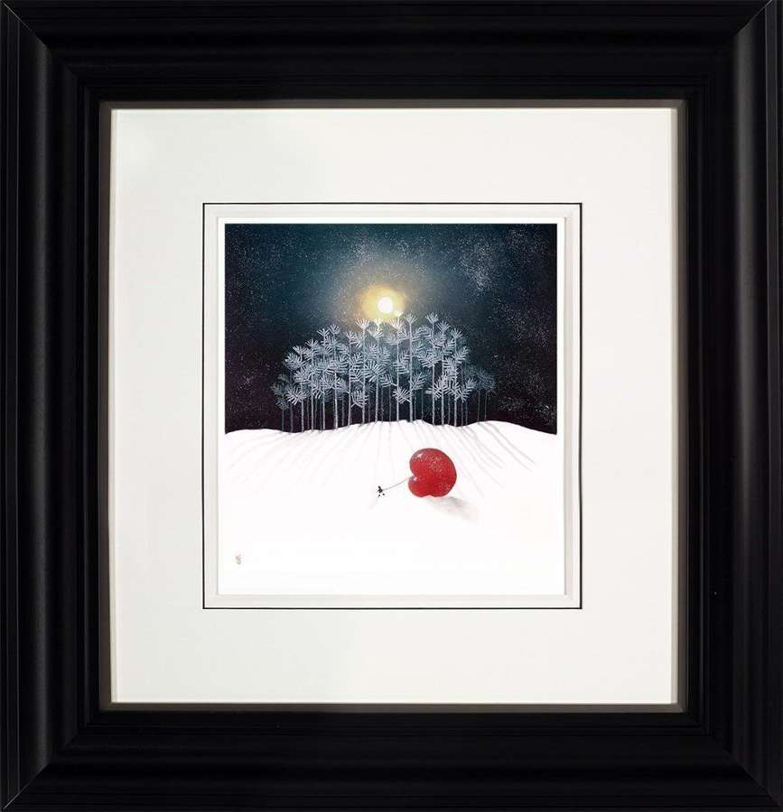 Winter Frost - Framed Art Print by Mackenzie Thorpe