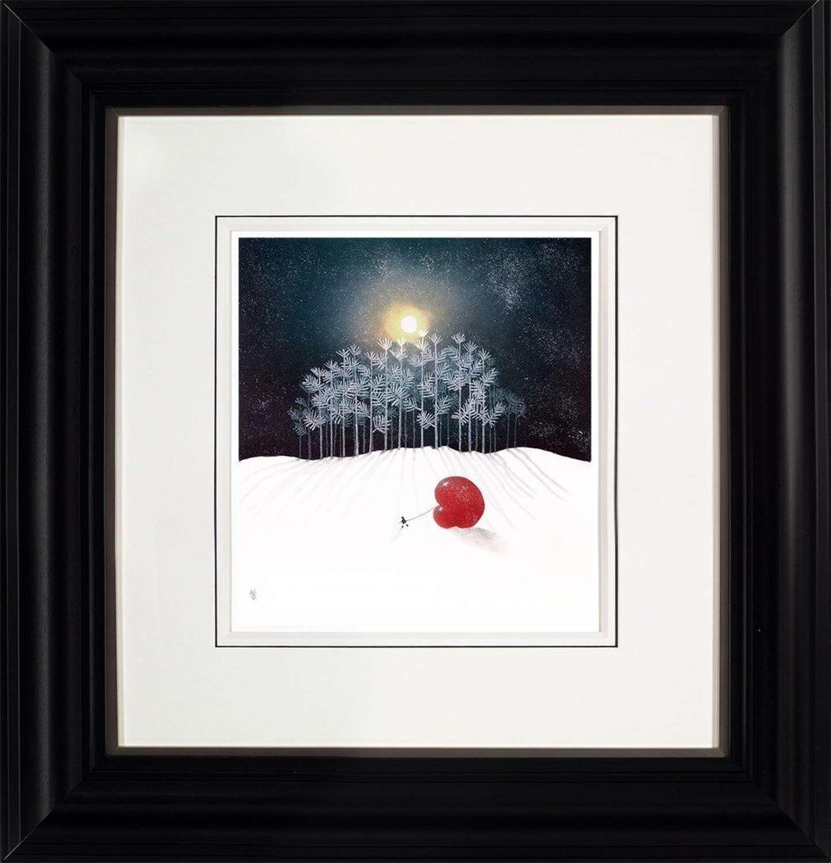 Winter Frost - Framed Art Print by Mackenzie Thorpe
