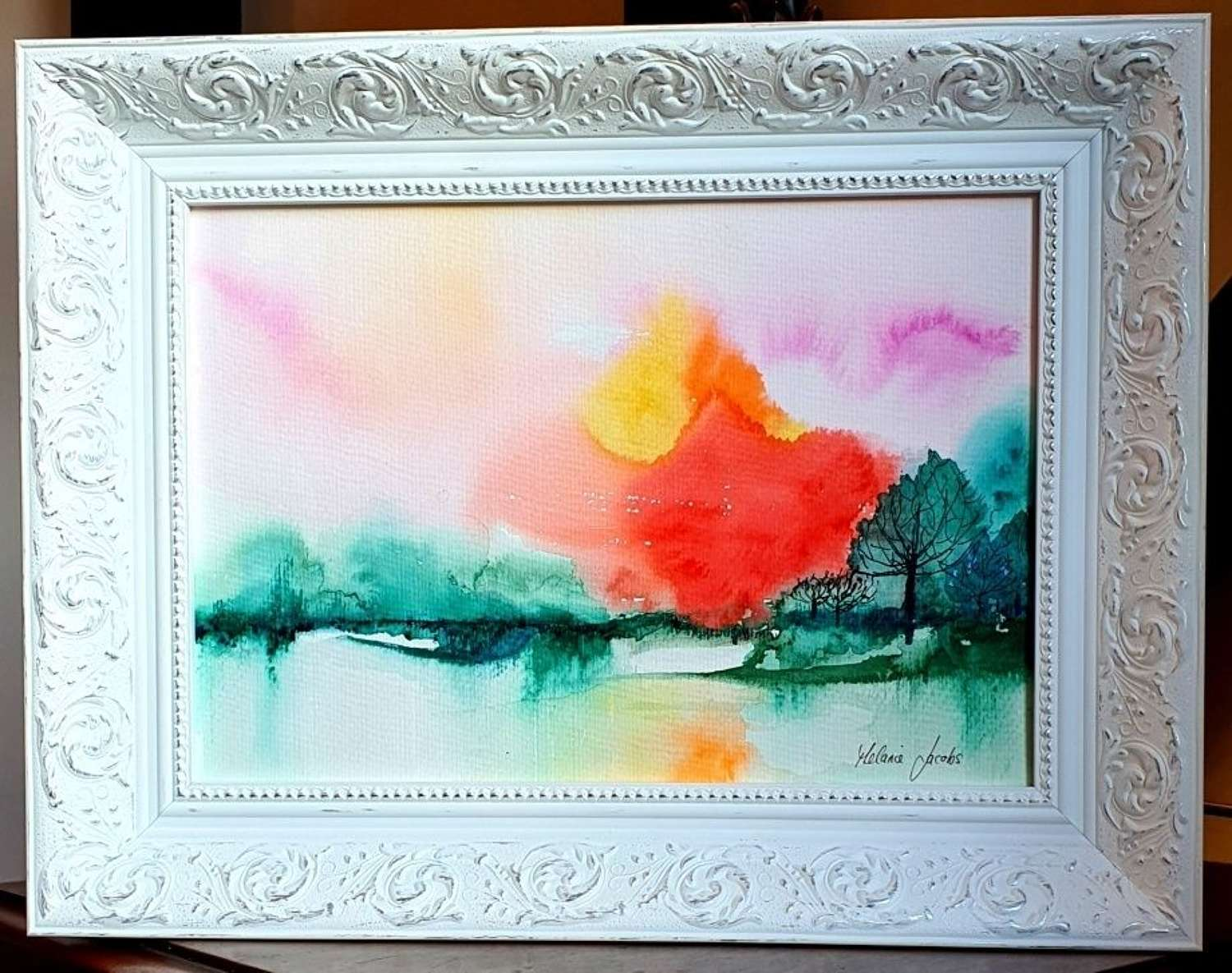 'Love, Hope And Happiness' - Original Watercolour By Melanie Jacobs