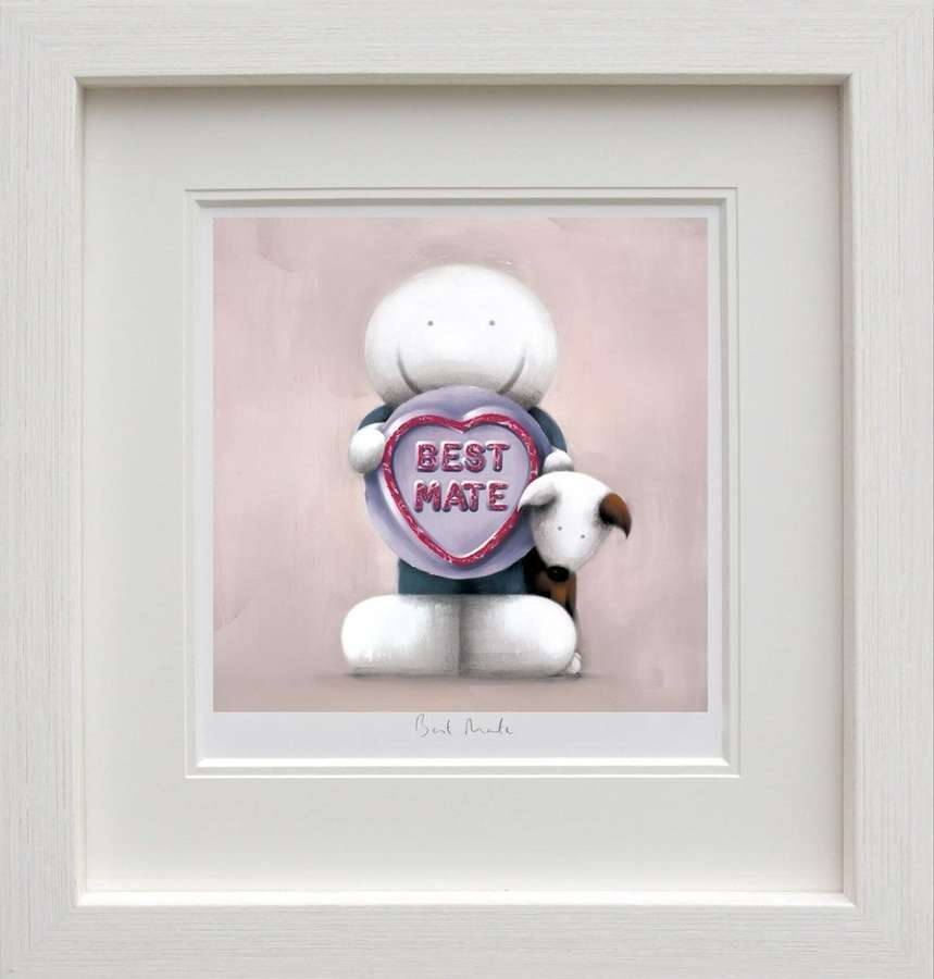 Best Mate Framed Art Print by Doug Hyde