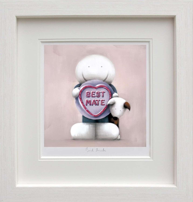 Best Mate Framed Art Print by Doug Hyde