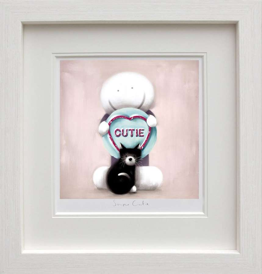 Super Cutie Framed Art Print by Doug Hyde