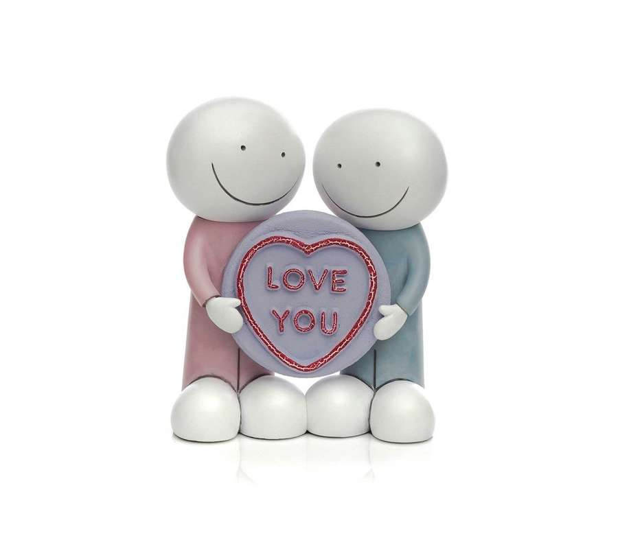 Love You by Doug Hyde Sculpture