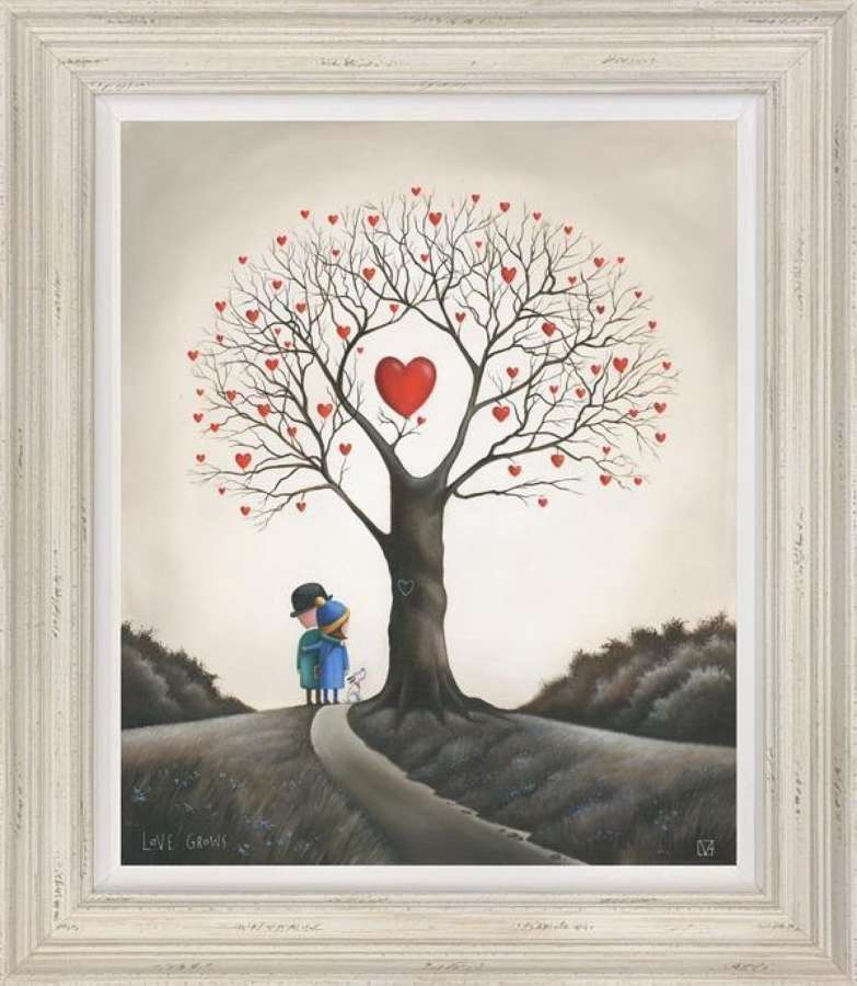 Love Grows Framed Art Print By Michael Abrams