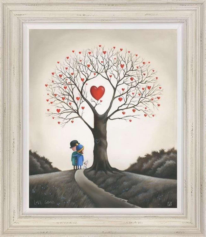Love Grows Framed Art Print By Michael Abrams