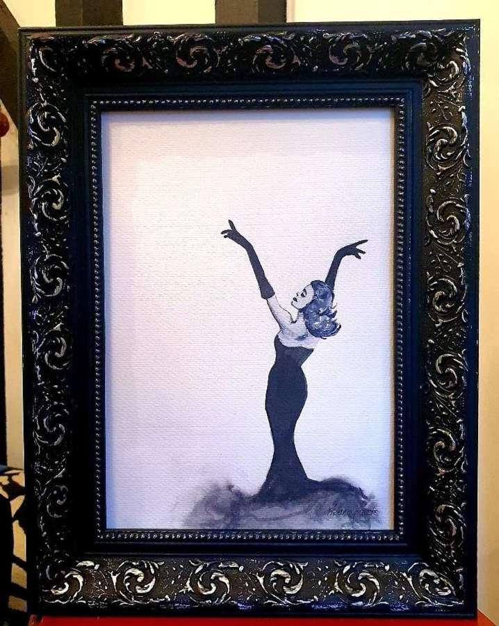 True Grace (Grace Kelly) Original Artwork By Melanie Jacobs