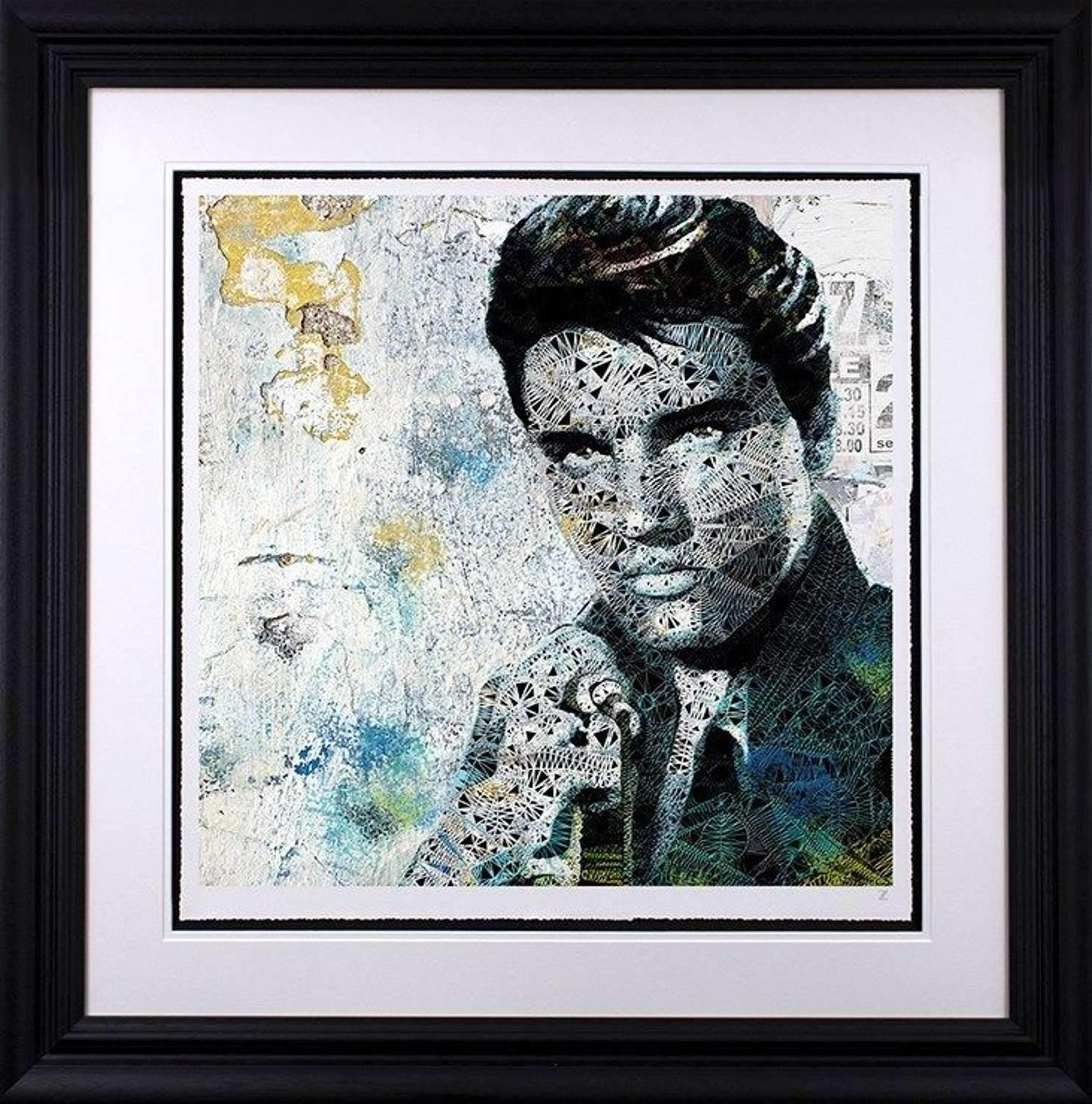 Elvis by Zee Limited Edition Art Print