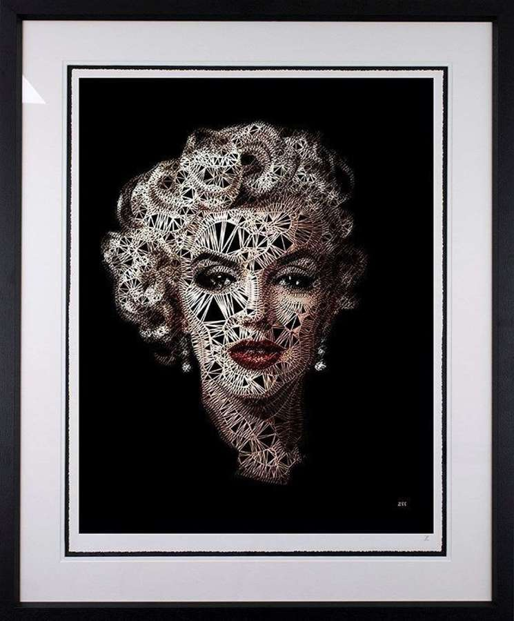 Monroe by Zee Framed Limited Edition Art Print