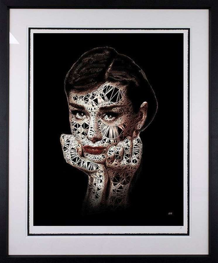 Audrey by Zee Framed Limited Edition Art Print