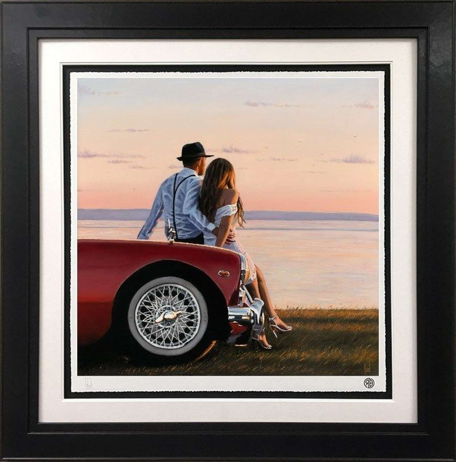 The Lookout - Framed Art Print by Richard Blunt