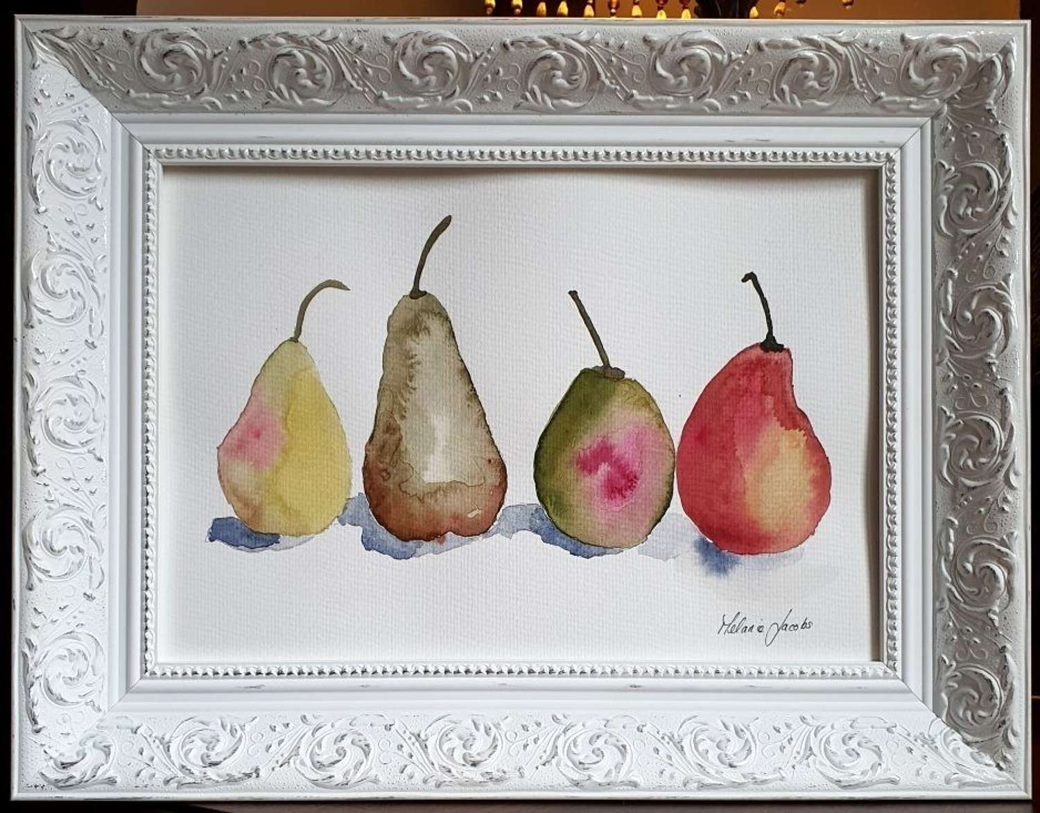 The Perfect ''Pair'' - Original Watercolour Painting by Melanie Jacobs