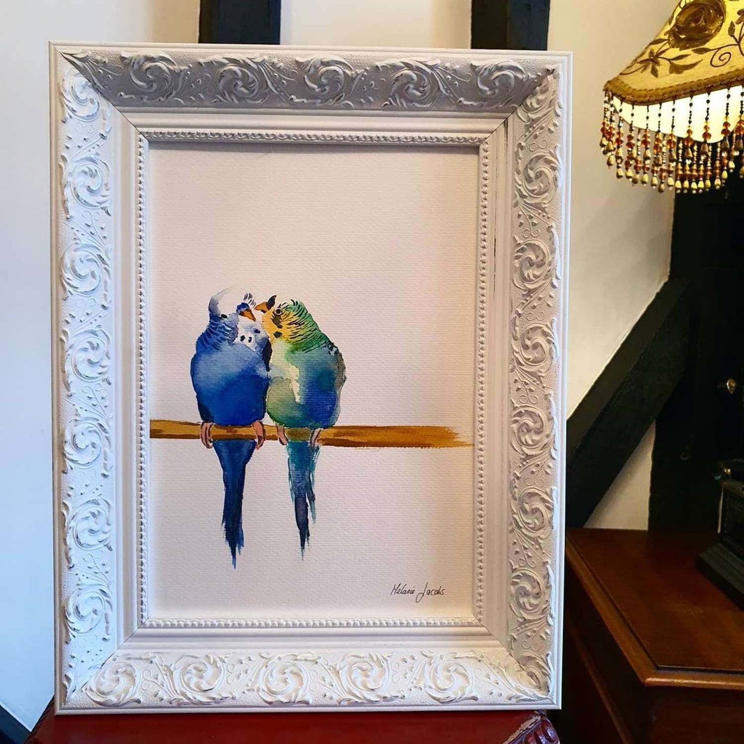 ''Truly Madly Deeply'' - Original  Painting by Melanie Jacobs