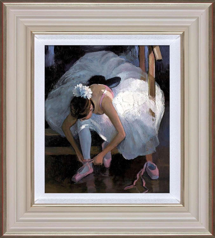 The Pink Slipper - Framed Art Print By Sherree Valentine Daines