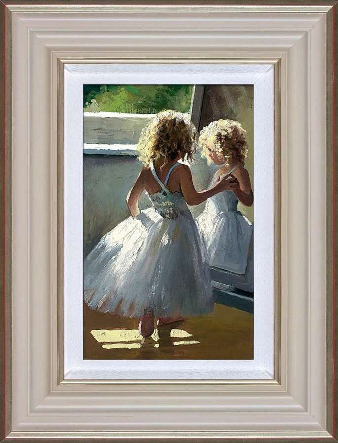 Pretty as a Picture - Framed Art Print By Sherree Valentine Daines