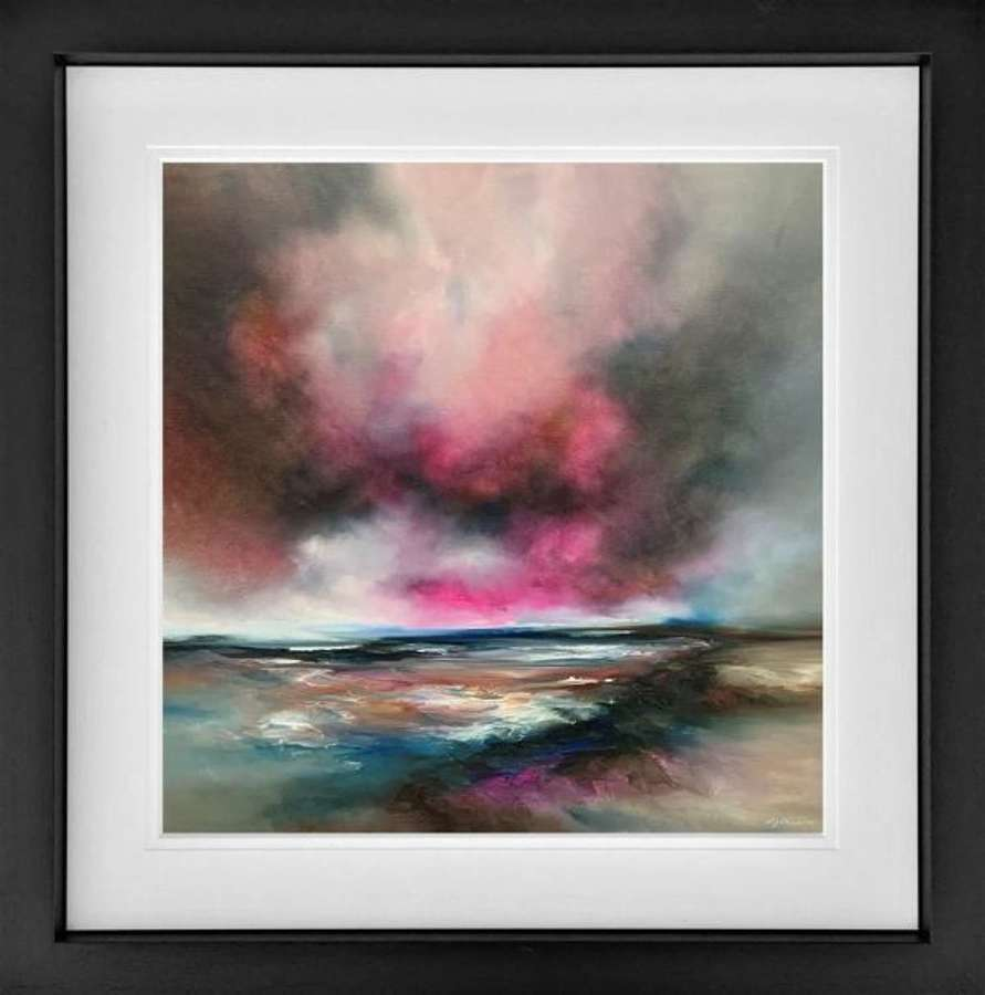 Nature Embers - Framed Art Print By Alison Johnson