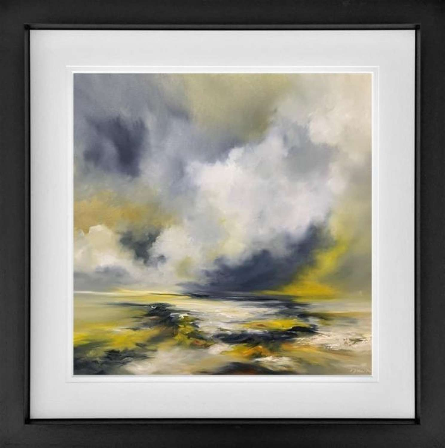 There Will Be Light - Framed Art Print By Alison Johnson