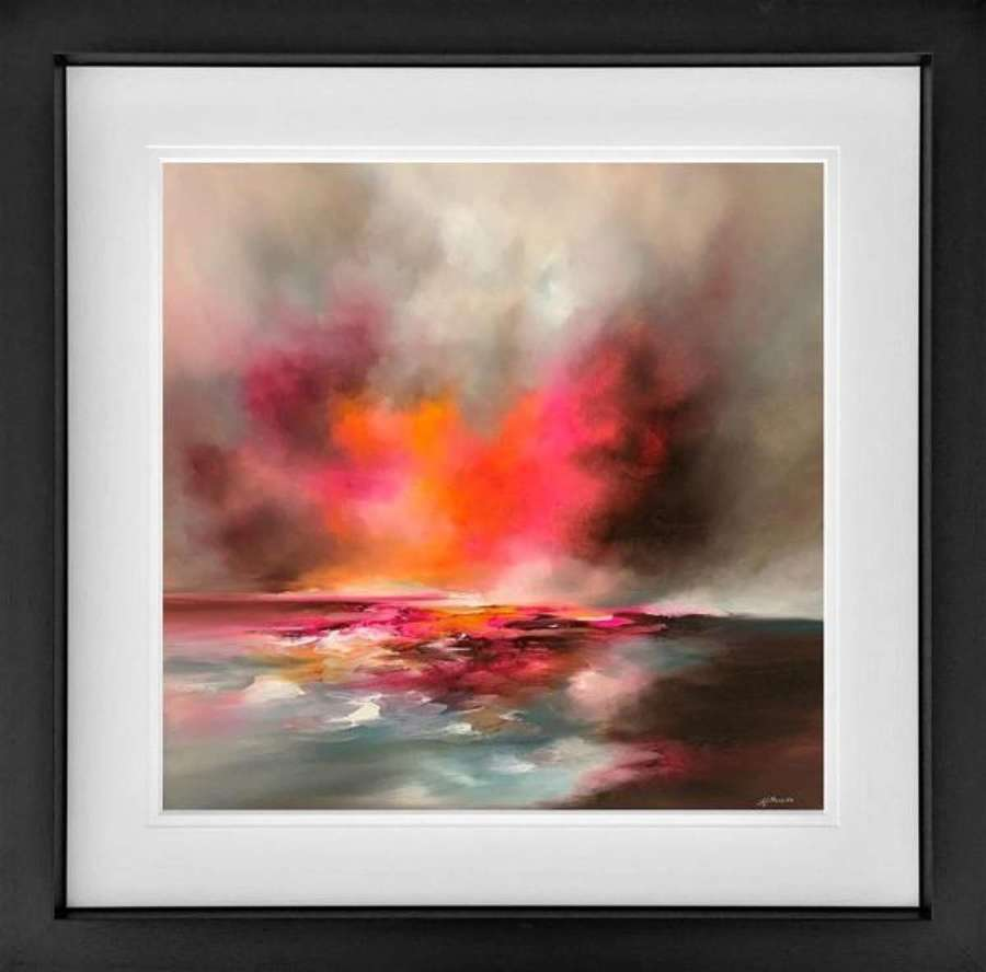 Sunshine and Shadows - Framed Art Print By Alison Johnson