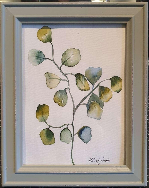 Eucalyptus I- Original Watercolour Painting by Melanie Jacobs