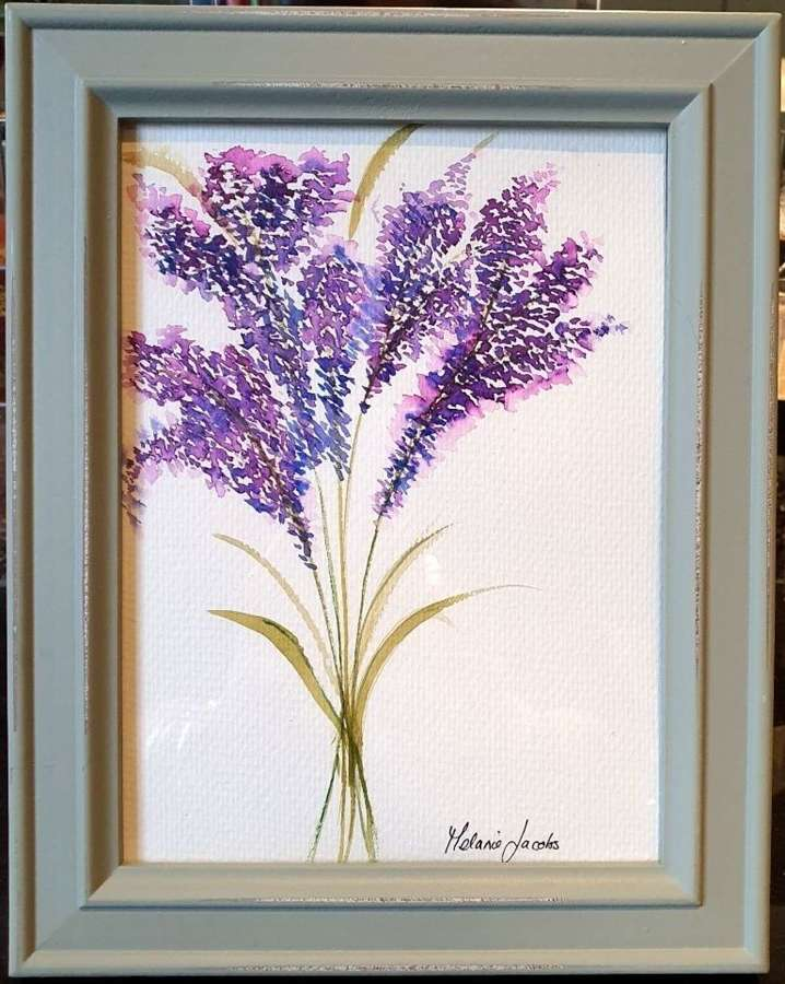 Lavendula - Original Watercolour Painting by Melanie Jacobs