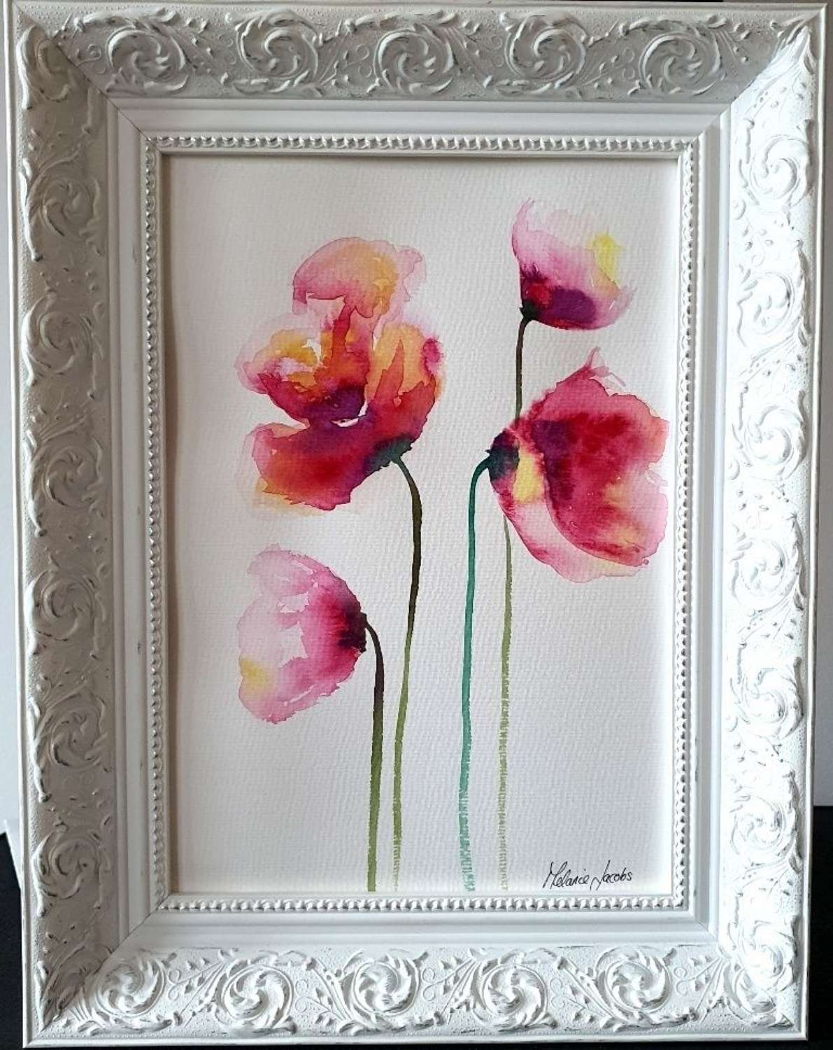 Hope In My Heart - Original Watercolour Painting by Melanie Jacobs