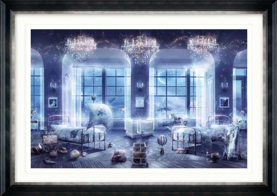 Where Dreams Are Born ( Peter Pan) - Framed Art Print By Mark Davies