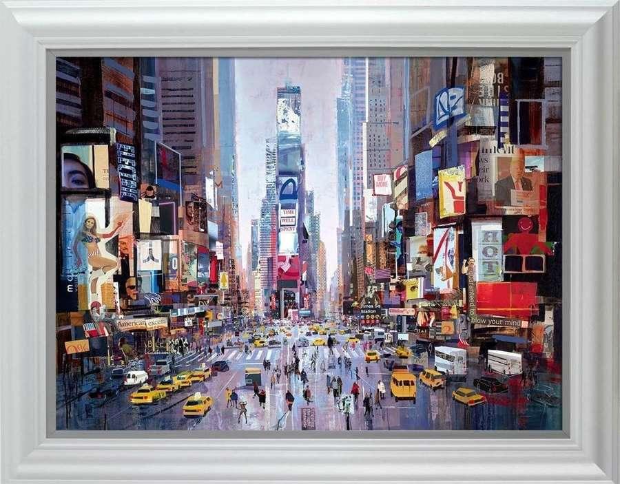 Shine of the Times - Framed Art Print By Tom Butler
