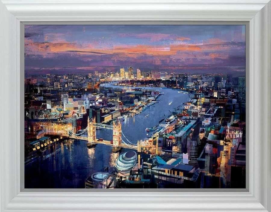 London Calling - Framed Art Print By Tom Butler