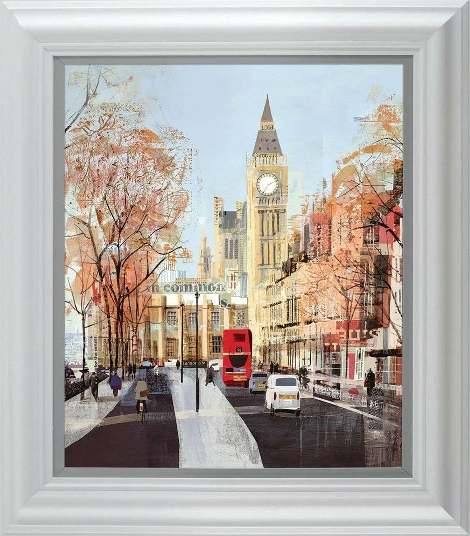 Like Clockwork - Framed Art Print By Tom Butler