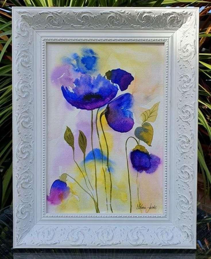 Devotion - Original Watercolour Painting by Melanie Jacobs