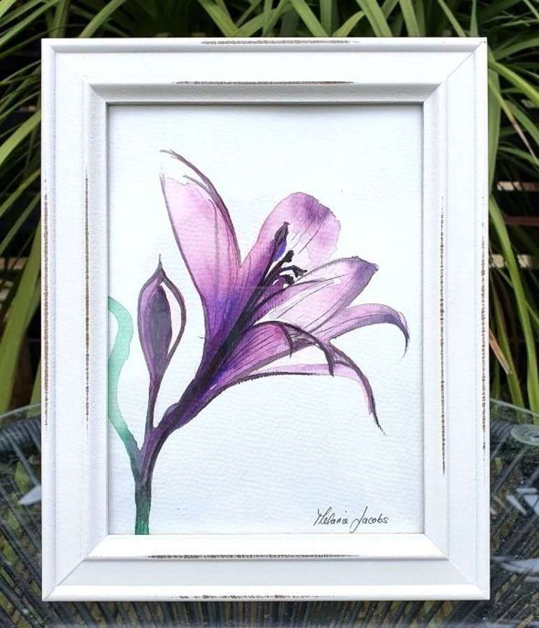 With Love  - Original Watercolour Painting by Melanie Jacobs