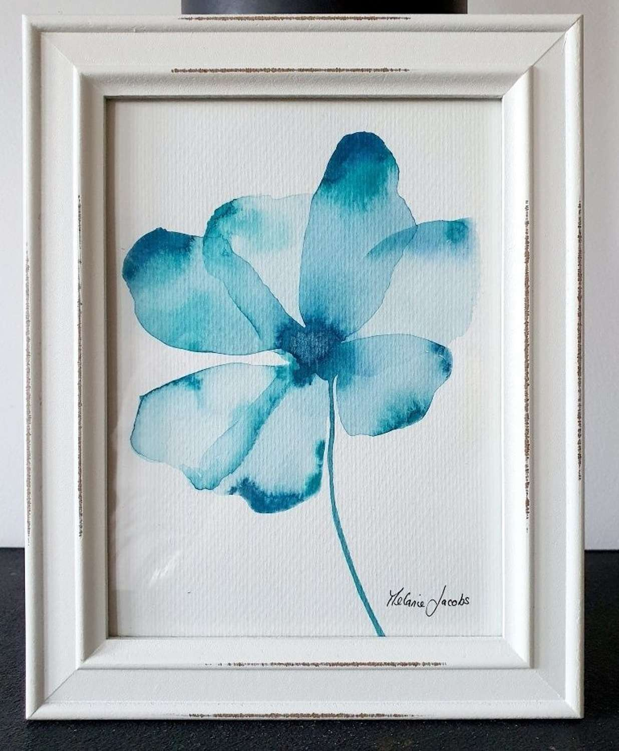 Adorable I - Original Watercolour Painting by Melanie Jacobs