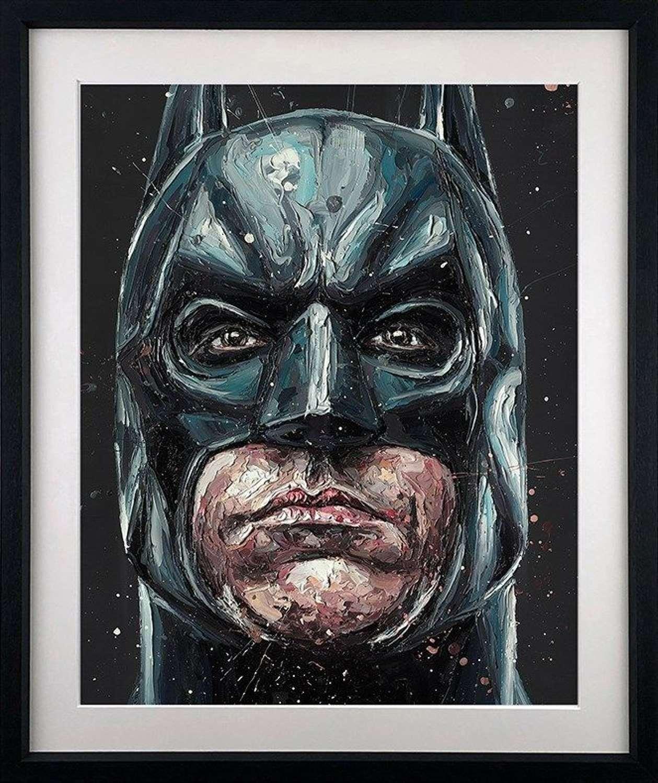 I am Vengeance - Framed Art Print by Paul Oz