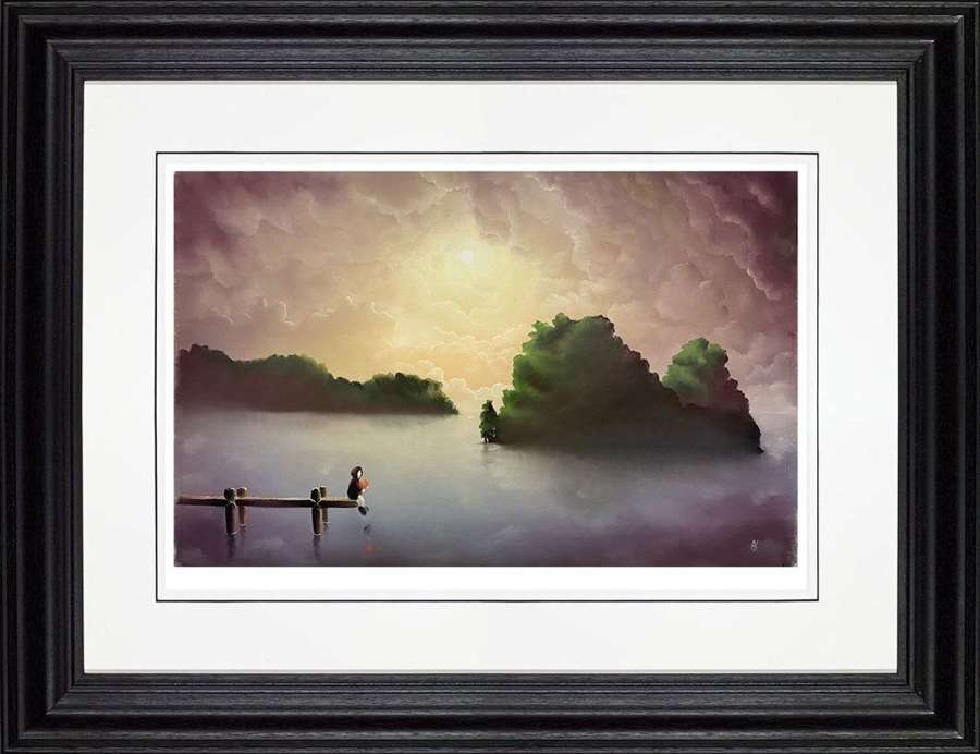 True Love - Framed Art Print by Mackenzie Thorpe