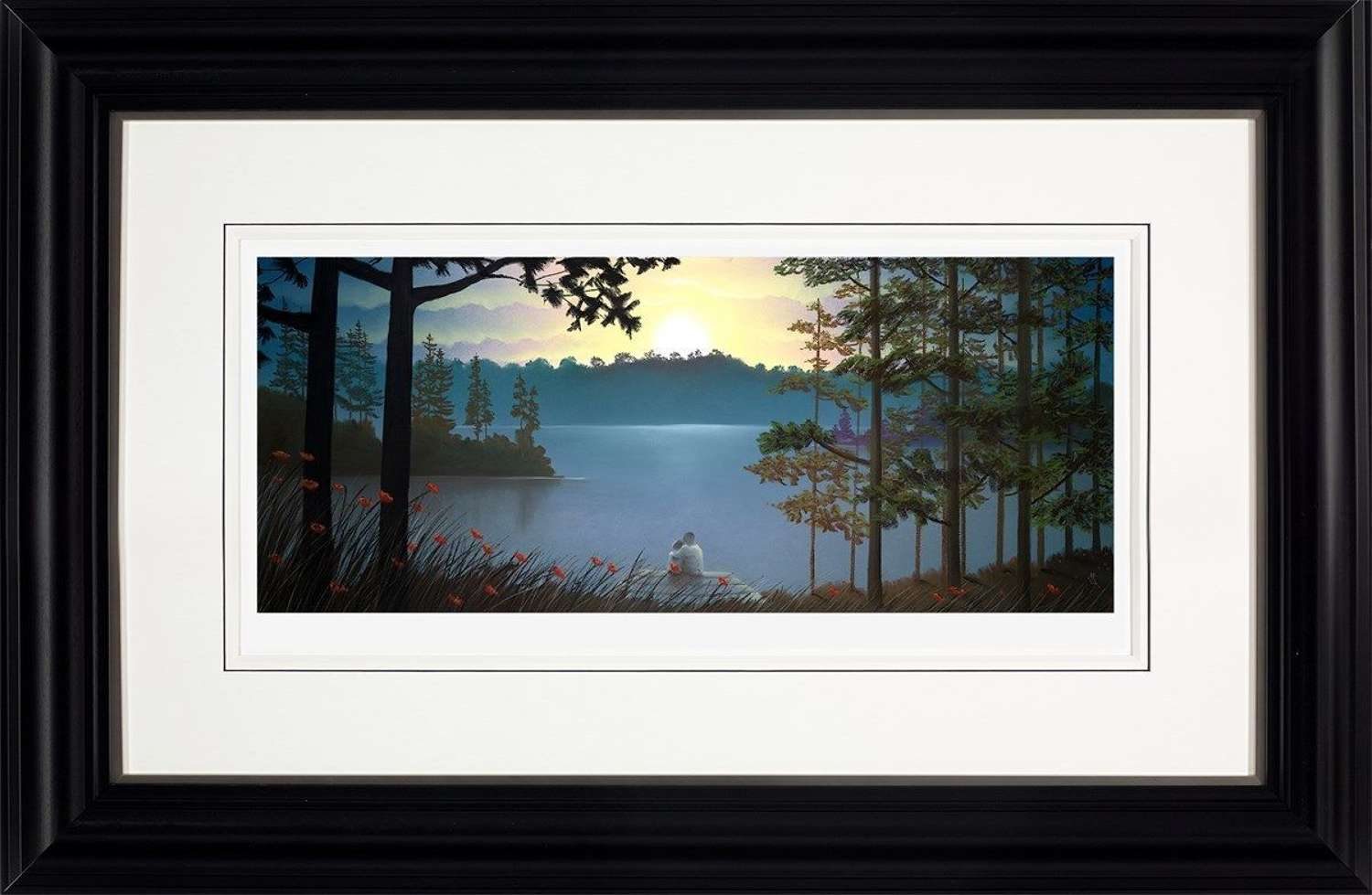 Just the Two of Us - Framed Art Print by Mackenzie Thorpe