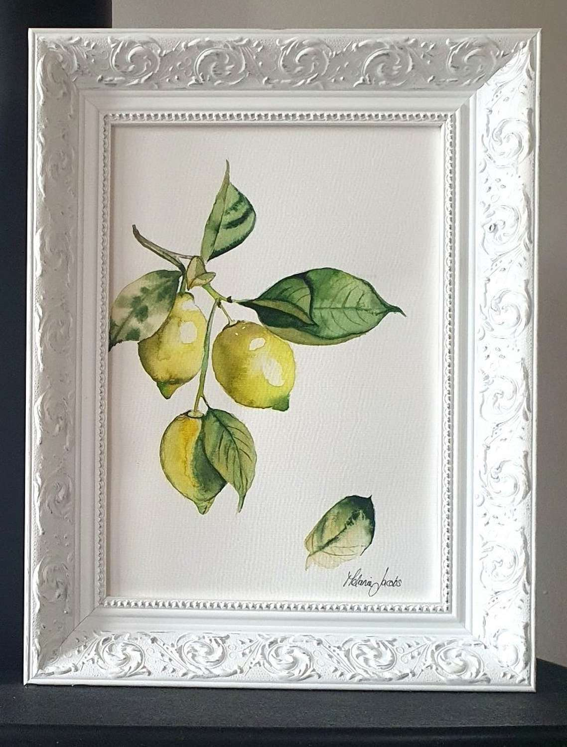 When Life Gives You Lemons II Original Painting by Melanie Jacobs