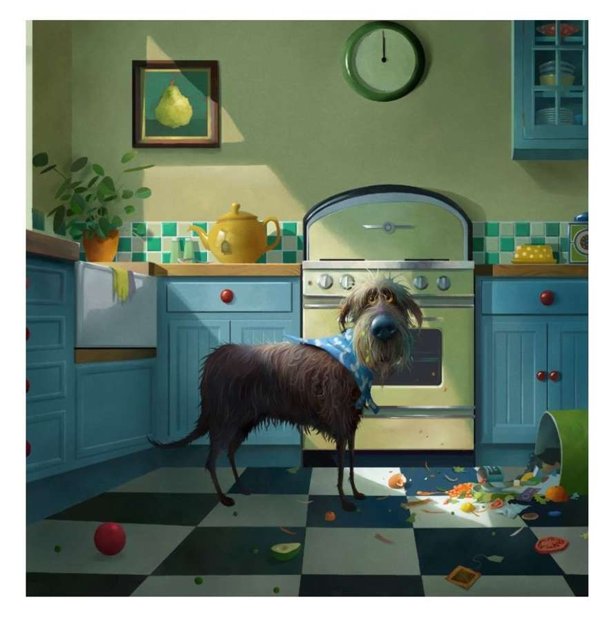 Midnight Feast - Signed Art Print By Stephen Hanson