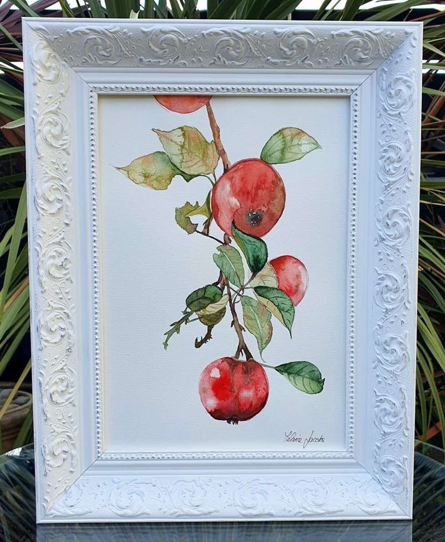Temptation - Original Watercolour Painting by Melanie Jacobs