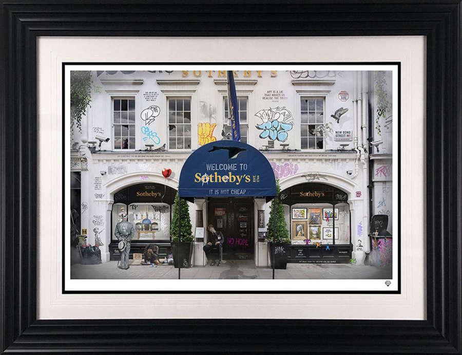 Sotheby's Framed Art Print By JJ Adams